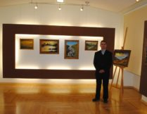 Więcej o: Wernisaż wystawy malarstwa Pawła Rebizaka